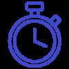 Stopwatch-Icon-Blue